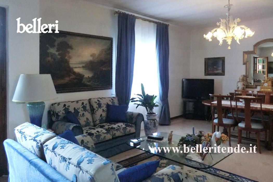 Belleri divani - Divano velluto blu ...