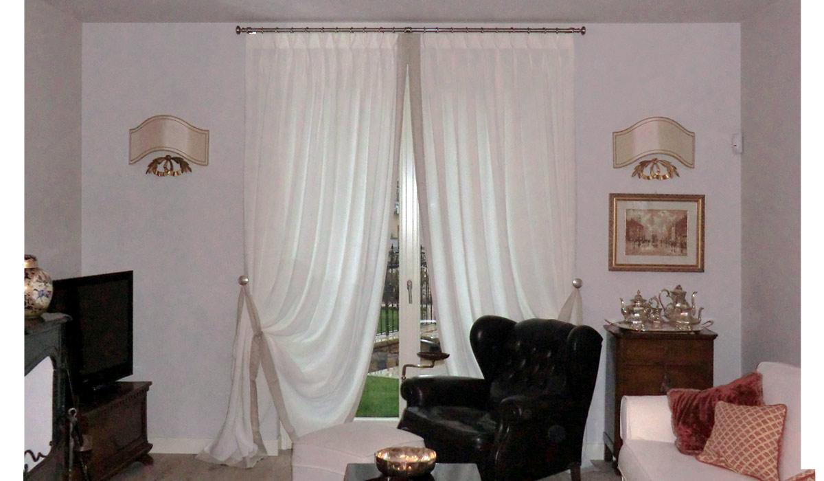 Tende per interni moderne roma tende da sole su misura for Tendaggi casa moderna