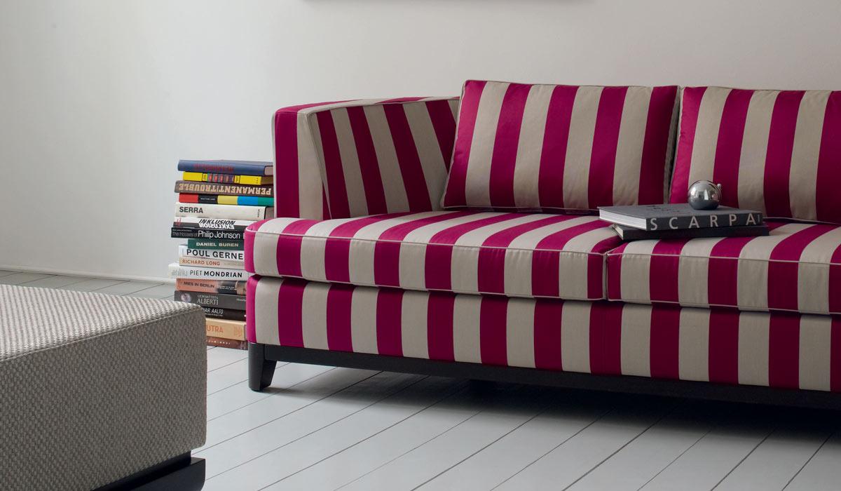 Tessuti a righe per divani sanotint light tabella colori for Foulard per divani